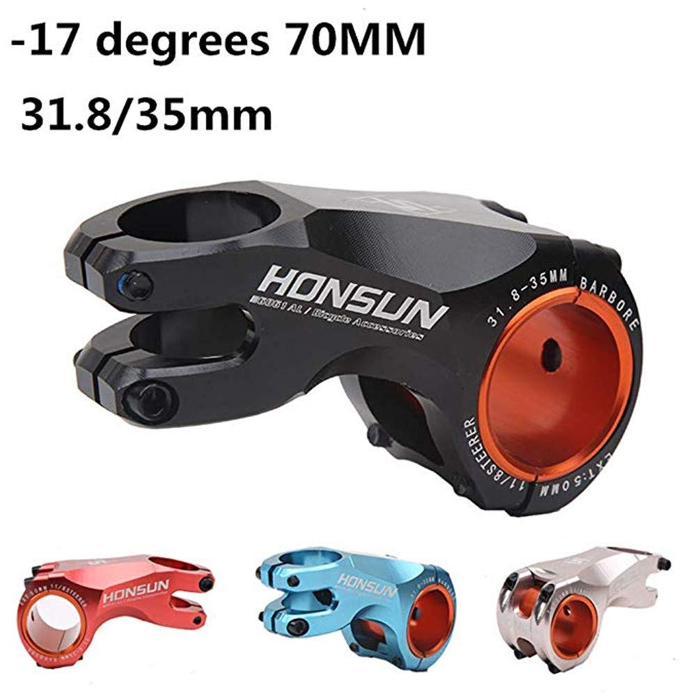 EC90 Aluminum Alloy Bicycle Stem MTB Mountain Road Bicycle Parts Riser Racing Cycling Stems 35mm 31.8mm CNC Bicycle Handle Stem