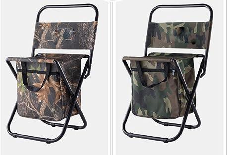 Metallo all aperto camping leisure travel pieghevole sedia zaino