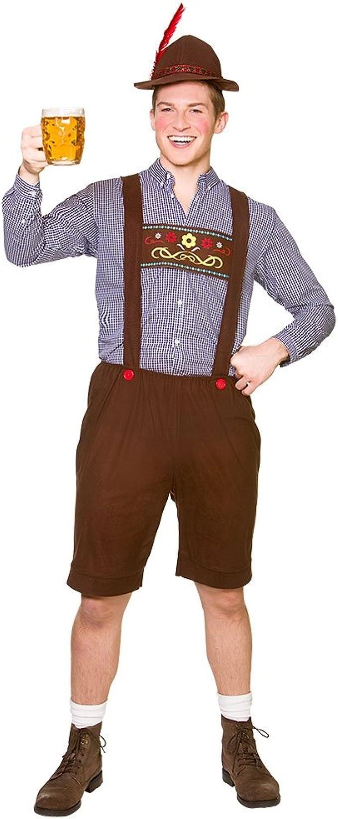 Disfraz de bávaro para el Oktoberfest, con gorro incluido, para ...