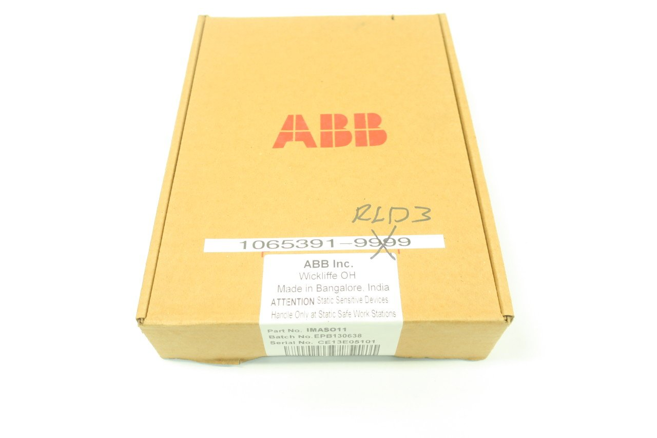 NEW ABB IMASO11 SYMPHONY PLUS ANALOG OUTPUT MODULE D590072