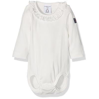 Polarn O. Pyret Baby Girls Frill Bodysuit, Body Bébé Fille