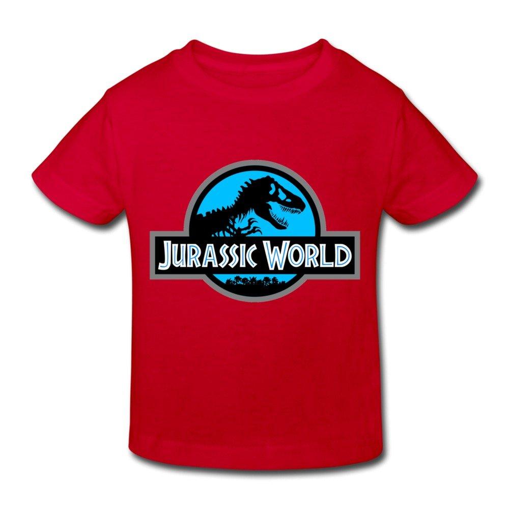 Age 2-6 Kids Toddler Jurassic World T Shirt