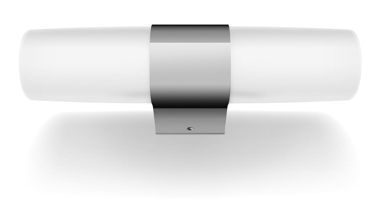 Philips myBathroom Skin - Aplique para baño, LED, 2 focos, color cromo [Clase de eficiencia energética A] 340241116 armario bañoeasy cocina