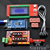 [Sintron] 3D Printer Controller Kit RAMPS 1.4 + Mega 2560 R3 + 5pcs A4988...