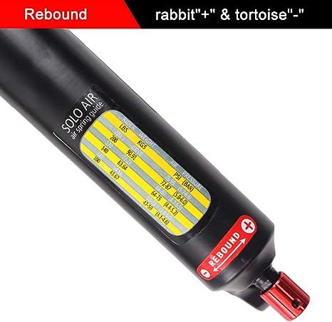 """UK LUTU Suspension Fork 26//27.5//29/"""" Rebound Disc 120mm Travel MTB Bike Air Forks"""