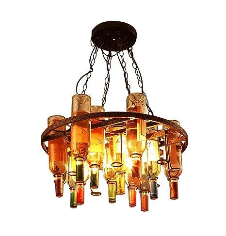 Candelabro LOFT Vintage país americano Lámpara de cristal de ...