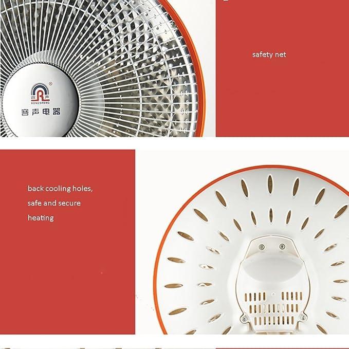 Calentador QFFL Mini eléctrico Radiador eléctrico Enfriamiento y calefacción (Color : Shaking His Head): Amazon.es: Hogar