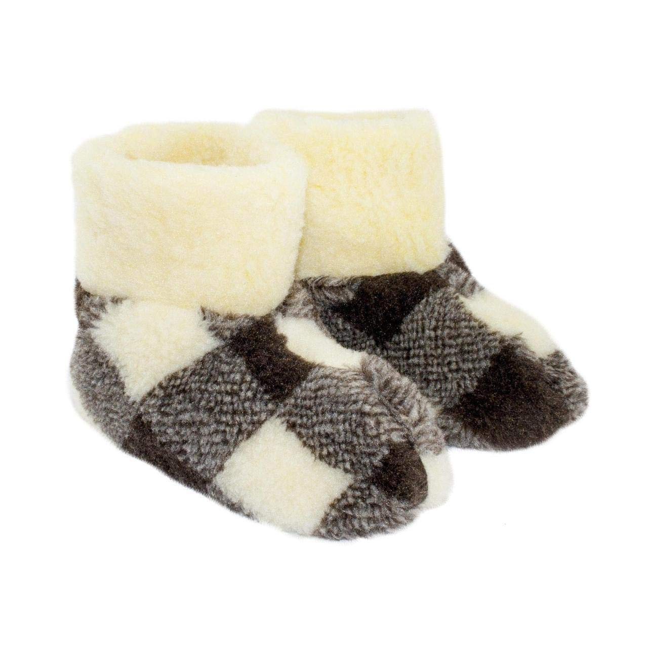 Sheepskin Slippers Soft-Sole Slippers for Home
