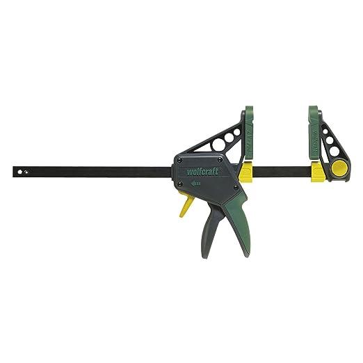 22 opinioni per Wolfcraft 3034000, Morsetto per uso ad una sola mano- 113212