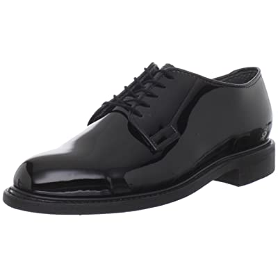 Bates Men's High Gloss Leather Sole Work Shoe | Shoes