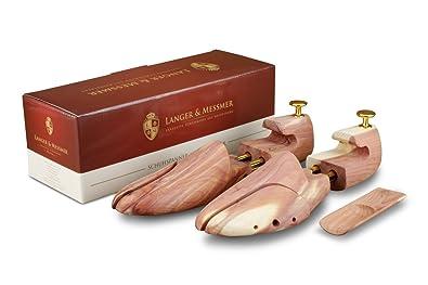 b0b6da3e11dfd7 Langer & Messmer, embauchoirs en bois de cèdre, pointures double taille  34/35