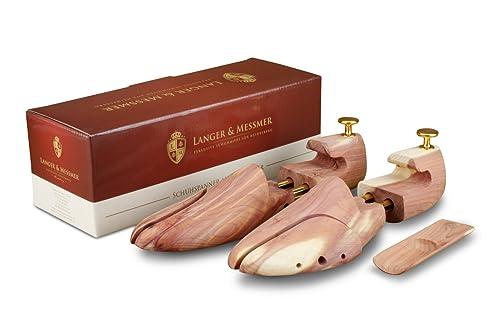 99d7e80f Langer & Messmer, Hormas para zapatos de madera de cedro, tamaño 34 ...