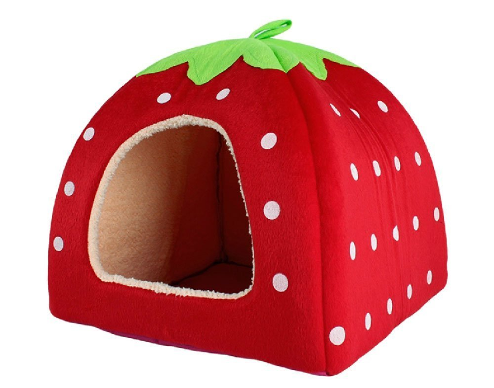 Cute Soft Sponge Strawberry Pe...