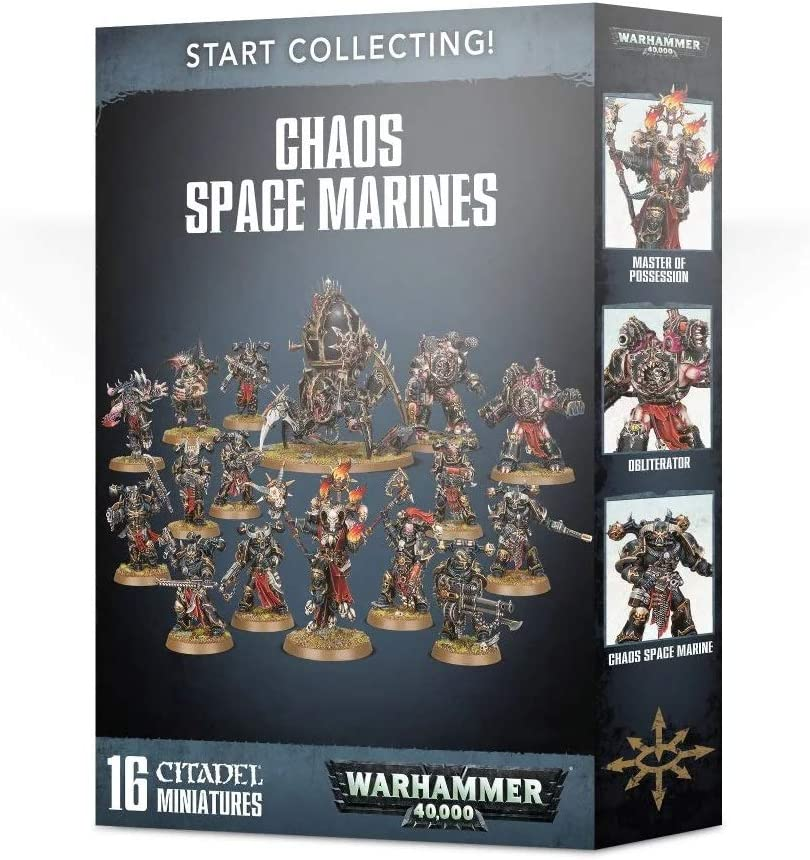 Games Workshop: Warhammer 40,000: Start Collecting! Chaos Space Marines (New)