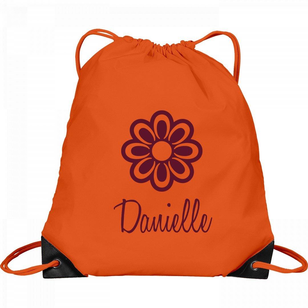 Flower Child Danielle: Port & Company Drawstring Bag by FUNNYSHIRTS.ORG