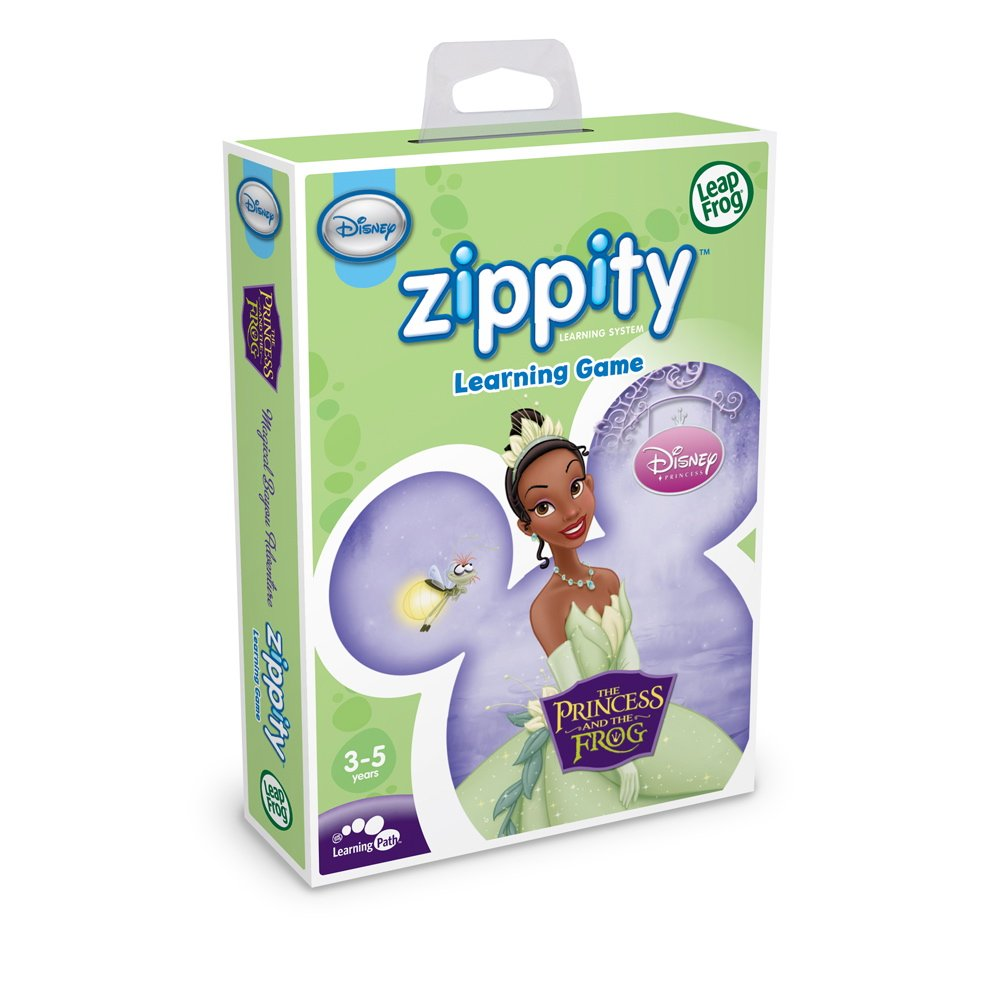 LeapFrog Zippity Learning Game: Disney The Princess and the Frog by LeapFrog (Image #1)