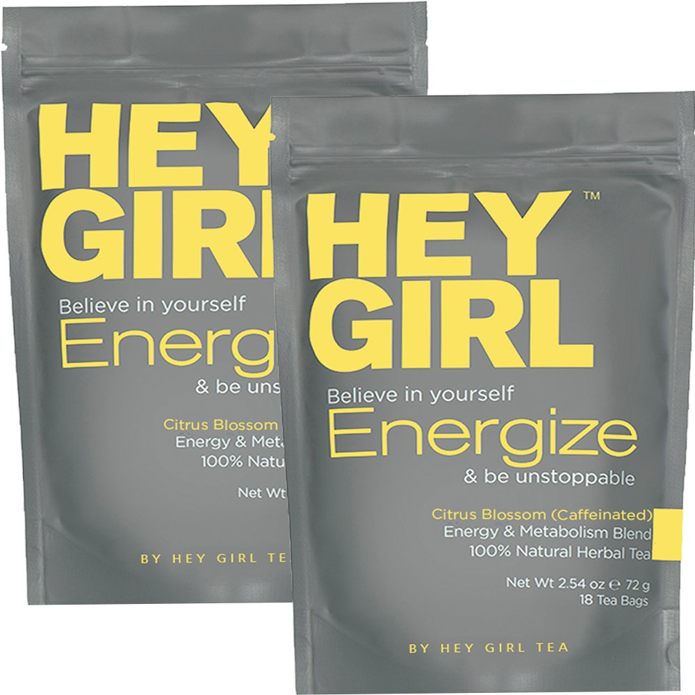 Metabolism Booster Tea (2 Pack) for Women - Energize Tea Will Increase Energy, Focus and Support Natural Weight Loss | Replace Your Coffee with Energize to Get Through Your Day with Ease …