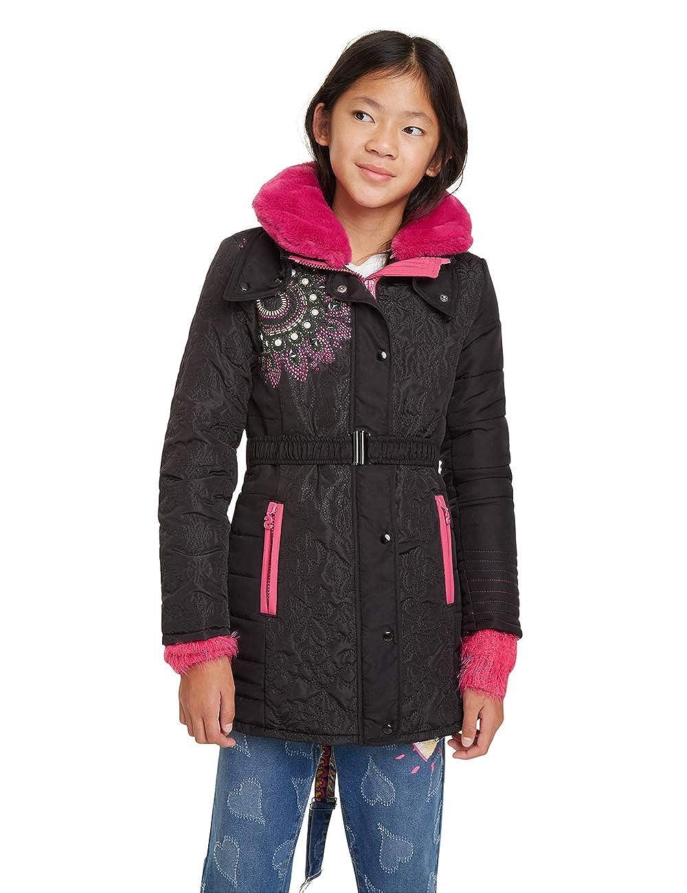 Desigual Coat Asa/í Abrigo para Ni/ñas