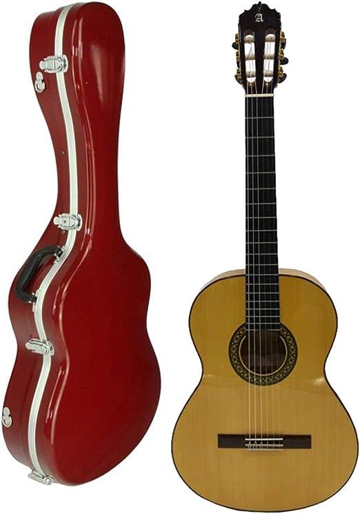 Guitarra Flamenca Alhambra 30 Klavier Flamenca + Estuche: Amazon ...