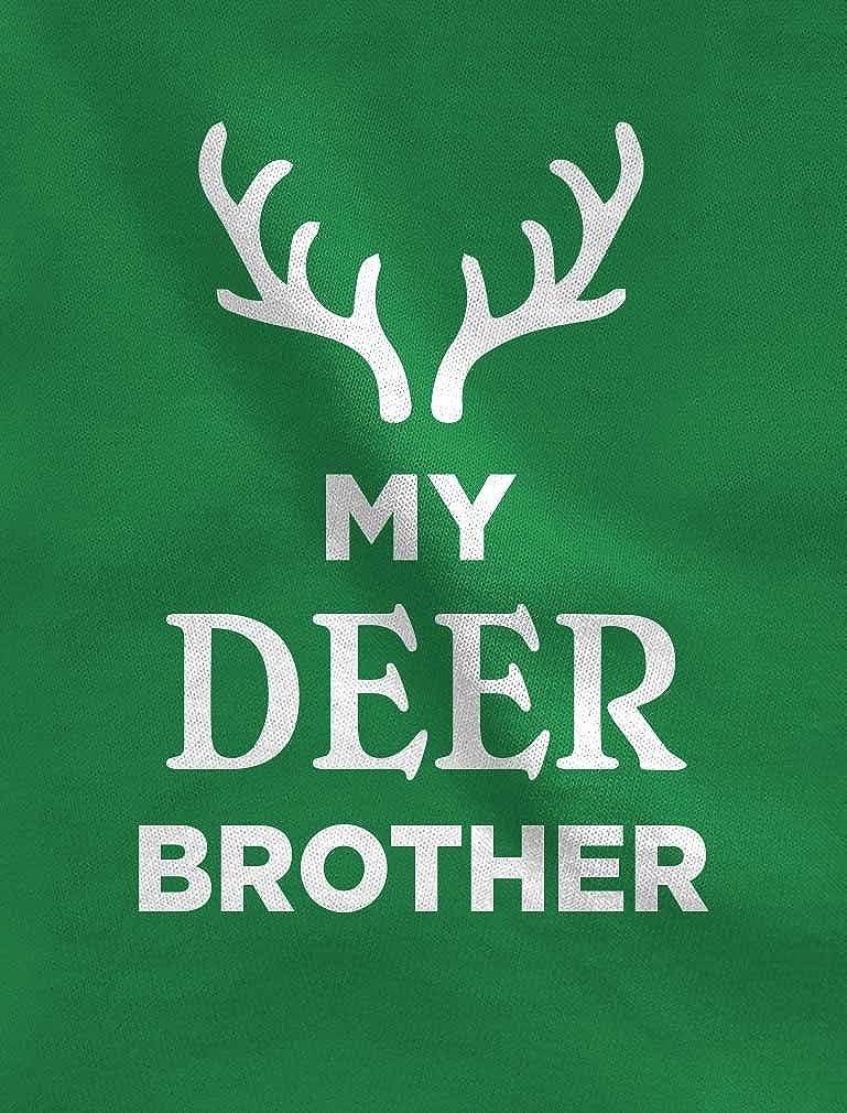 TeeStars Deer Brother Reindeer Antlers Siblings Xmas Toddler//Kids Sweatshirt