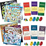 Comprehension Game Trio Set Of 2 : Grades 4-5
