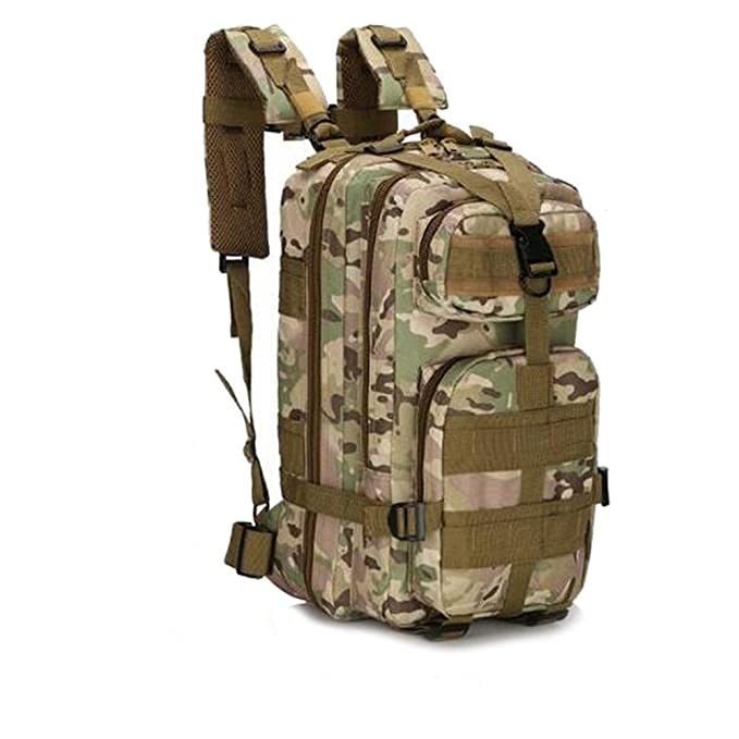 Amazon.com : MINGPINHUIUS Tactical Backpack, Military Backpack 25L Army Rucksack MOLLE Assault Pack Tactical Combat Backpack for Outdoor Hiking Camping ...