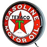 Neonetics TEXACO Motor Oil 15 INCH Backlit LED Lighted Sign, 15'