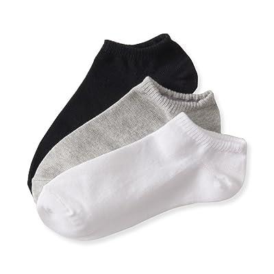 Aeropostale Women's 3-Pack Solid Ankle Socks-Color