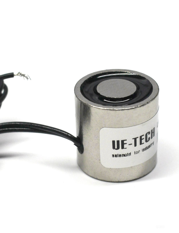 UE-TECH DC12V 6.6LB/3.0KG Lifting Magnet Electromagnet Holding Solenoid UE-2020-12V Suzhou UE Technology Co. Ltd.