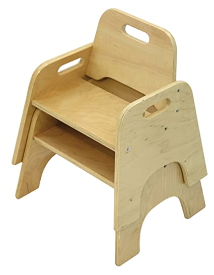 Charmant A+ Childsupply Stackable Toddler Chair 10u0026quot;