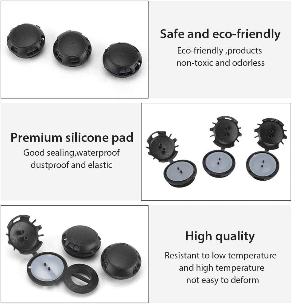 10pcs Dustproof Air Valves Mask Breathing Valve Replacement Breathing Valve Air Breathing Filter Accessories for Cycling Mask