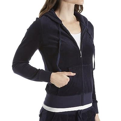 Juicy Couture Black Label Women's Velour Robertson Jacket: Clothing