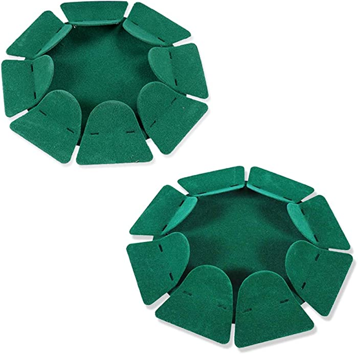 HOW TRUE 2 PCS All-Direction Golf Putting Cup Golf Practice Hole Cup Surface Flocking for Office Indoor Outdoor Golf Practicing