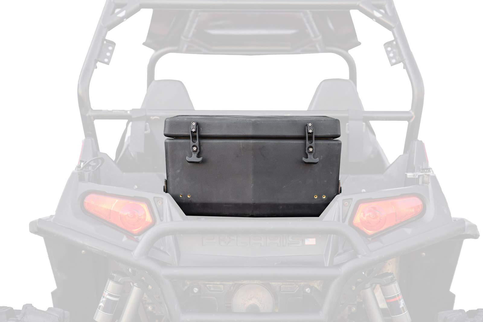 SuperATV Rear Heavy Duty Cargo Storage Box/Cooler for Polaris RZR 800/800 S / 800 4/570 - Insulated to Keep Drinks Cold by SuperATV.com