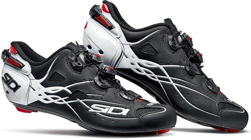 SIDI(シディ) SHOT(ショット) Road Cycling Shoes 2017 - Matt Black/White [Size: 40~46 EUR] (45 EUR [27.5cm]) [並行輸入品]   B074DR8JNC
