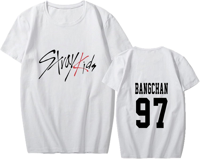 YJYP Kpop Stray Kids Tshirt Jisung Felix Hyunjin Woojin Minho Tee Shirt Unisex Tee Top