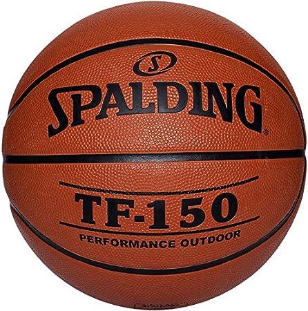 Spalding Tf150 Outdoor Sz.5 (73-955Z) Balón de Baloncesto, niños ...