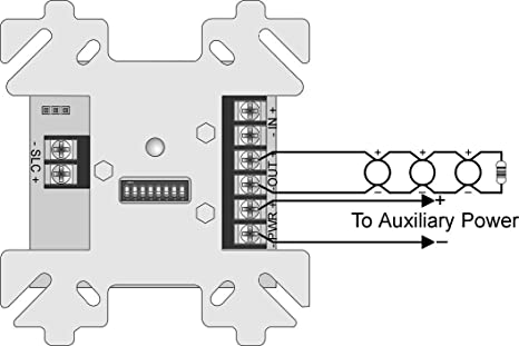 SILENT KNIGHT SD500-SDM 2-Wire smoke detector module ... on