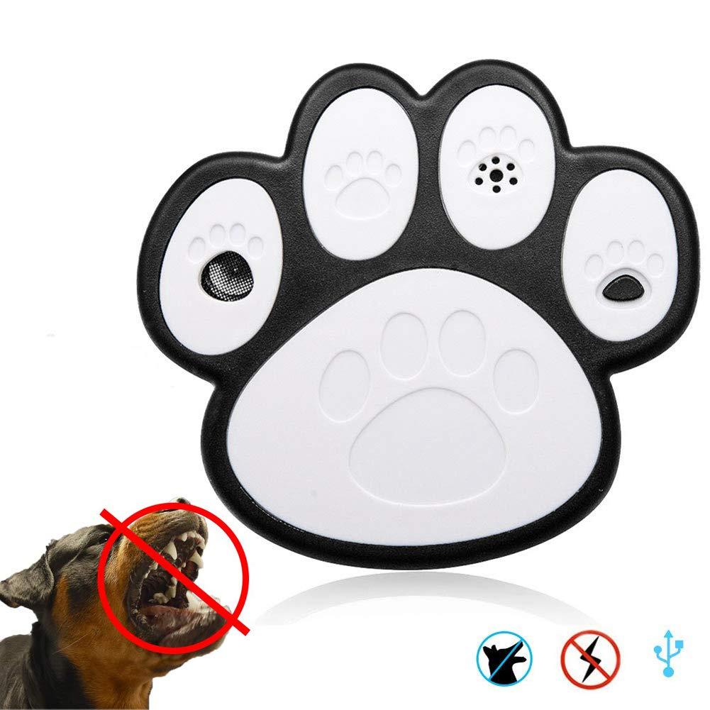 Dog Bark Control Devices,Outdoor Paw Design Stop Repeller Anti Bark Controller
