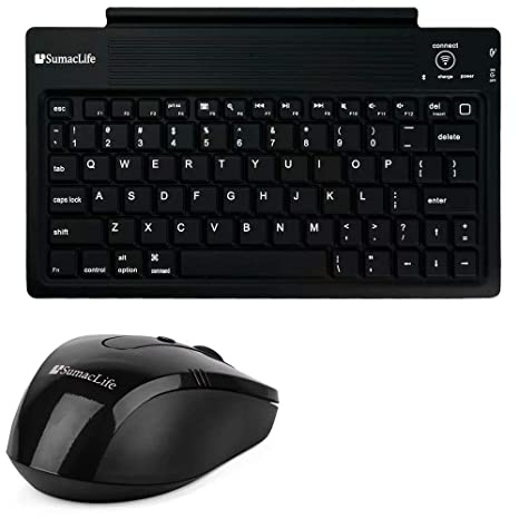 Amazon.com: Wireless Keyboard and Cable Free Mouse Fit ...