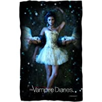 Why Choose? - The Vampire Diaries - Fleece Throw Blanket