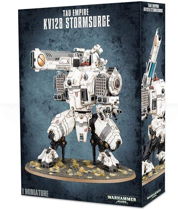 WH40K Tau Empire KV128 Stormsurge by Warhammer: Amazon.es: Juguetes y juegos