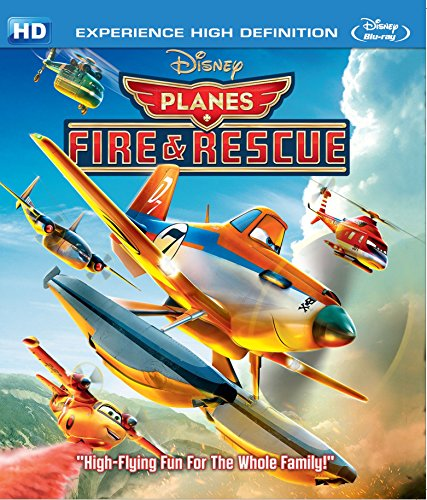 Planes – Fire and Rescue Blu-ray