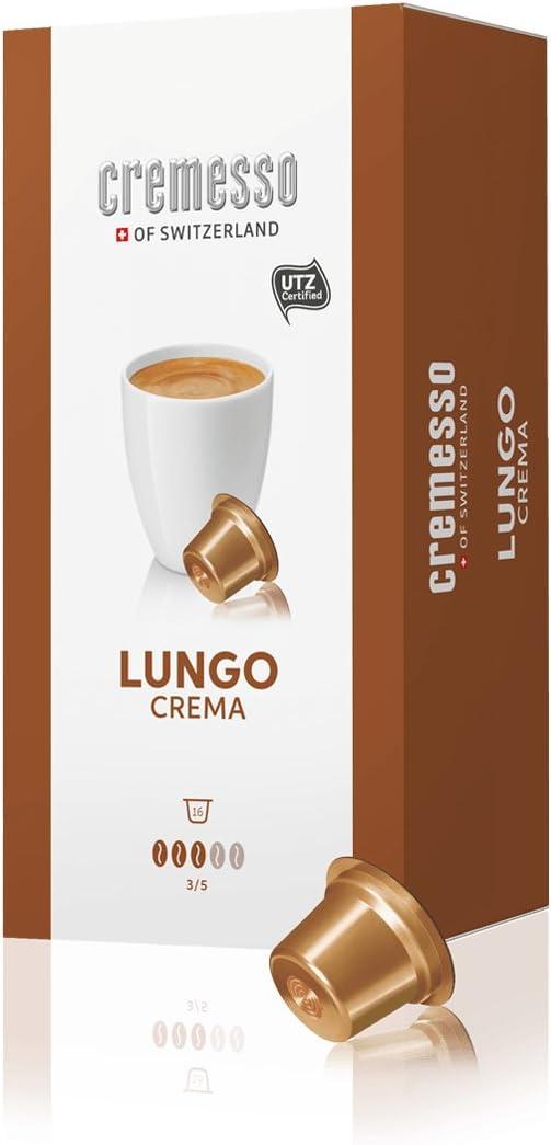Cremesso of Switzerland Modelo: lungo Crema contenido: 3 x 16 ...