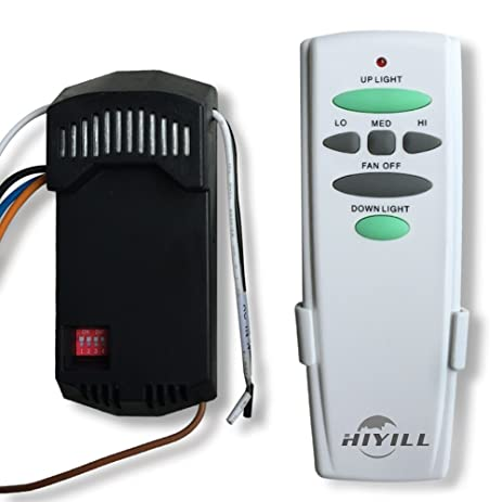 Hiyill hd628r universal handhold ceiling fan remote control kit hiyill hd628r universal handhold ceiling fan remote control kit with up down light aloadofball Image collections