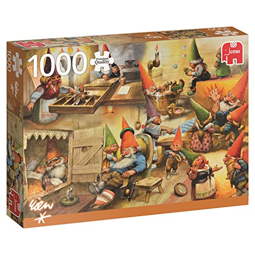 Jumbo Gnomes At Home Jigsaw Puzzle (1000 Piece)