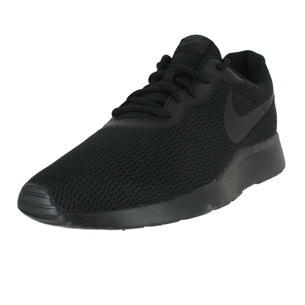 NIKE Men's Tanjun Sneakers, Breathable Textile Uppers and Comfortable Lightweight Cushioning B07BR5NG5L 9.5 EEEE US|Black Anthracite Black