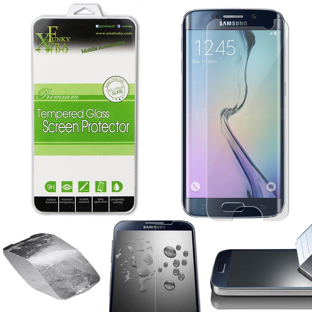 Xtra-Funky Cristal Templado Compatible con Samsung Galaxy S6 Edge ...