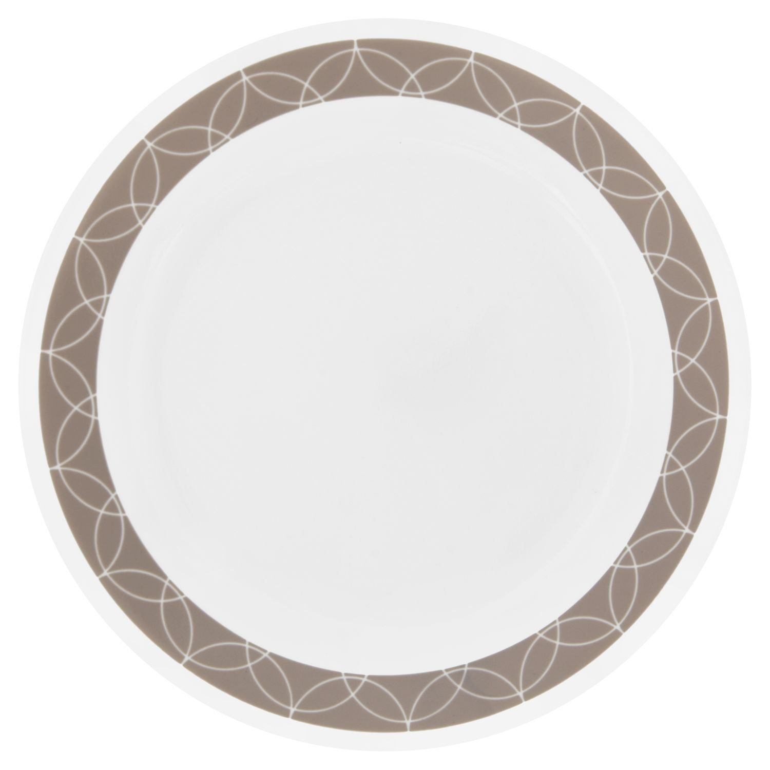 Corelle Livingware Sand Sketch 8.5'' Lunch Plate (Set of 4)