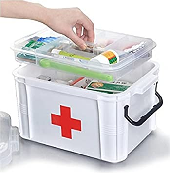 Gentil Large Capacity Household Multi Layer First Aid Kit Multifunctional Medicine  Box/first Aid Kit